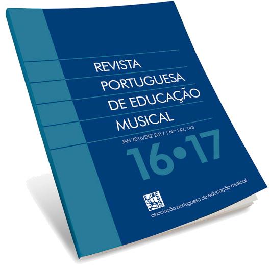 Capa da Revista Portuguesa de Educação Musical