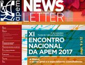 Editorial da APEM Newsletter - Outubro - 2017