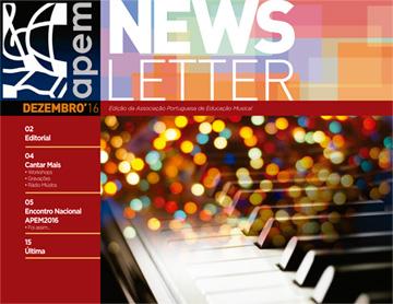 Newsletter de setembro da APEM