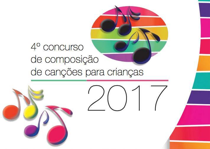 4ª edição do Concurso de Composição de Canções para Crianças
