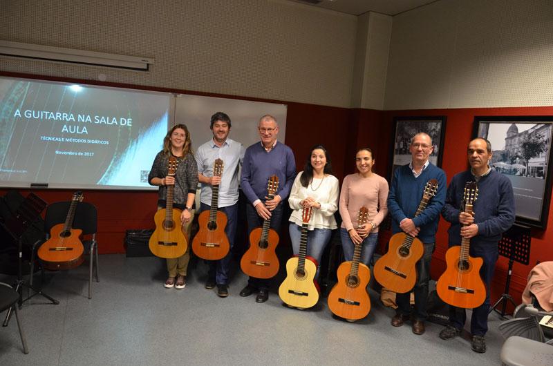 Grupo: A Guitarra na Sala de Aula - Técnicas e Métodos Didáticos
